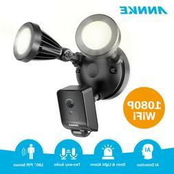 ANNKE Wireless HD 1080P Floodlight 2MP PIR Motion Security C