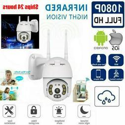 1080P HD WiFi 5X ZOOM CCTV Outdoor IP Camera Waterproof Home
