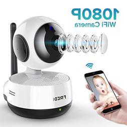 FREDI Wireless 1080P IP Baby Pet Monitor Camera WiFi Camera