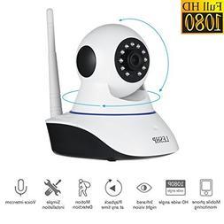 LESHP 1080P Wireless IP Camera Full HD WiFi Home Security Su