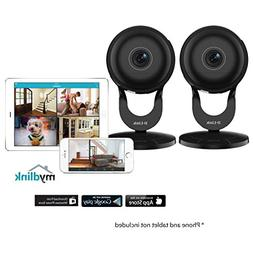 2 Pack D-Link 1080p Wireless Night Vision Surveillance Camer