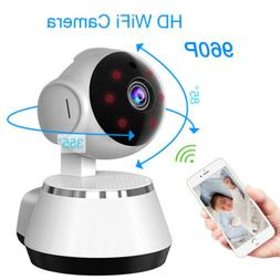 Wireless Pan Tilt Security Network CCTV IP Cameras Night Vis