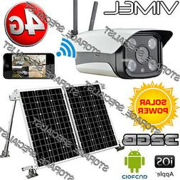 Wireless Security Camera 4G Solar Farm GSM Home IP Alarm Sys