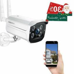FREDI Wireless Security Camera,720p WiFi Wireless IP Bullet