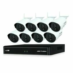 Night Owl Wireless Security Camera System 1080p 1TB 8 Camera