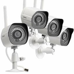 wireless security camera system 4 pack smart
