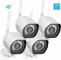 Zmodo WiFi HD 720p Surveillance IP Camera *4 Pack* Home and