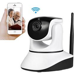 HRWI Wireless Security Camera,720P HD Home WiFi Wireless Sec