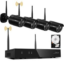 Wireless Security Camera Systems 1080p with Audio Ports, xma