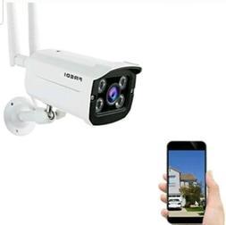FREDI Wireless Security Camera System,720p WiFi Wireless IP