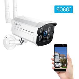 FREDI Wireless Security Camera System,1080p WiFi Wireless IP