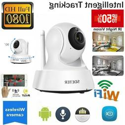 Wireless Smart IP WiFi HD IR Cut Home Security Camera 1080P