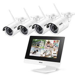 ZOSI Digital Wireless Surveillance System Security Network 1