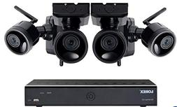 Lorex 6 Channel Wireless Cameras System with 4 HD Rechargeab