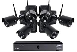Lorex 6 Channel Wireless Cameras System with 6 HD Rechargeab