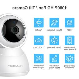 FLOUREON YI Cloud Home Camera Two Way Audio 1080P Wireless I