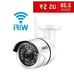 Zosi 1080P Wifi Ip Camera Onvif 2.0Mp Hd Outdoor Weatherproo