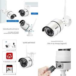Zosi 2.0Mp Ip Camera Wi-Fi Outdoor Waterproof Hd Video Surve